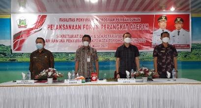 Permalink ke Pimpin Forum Perangkat Daerah, JR Ingatkan Sinegritas Pembangunan