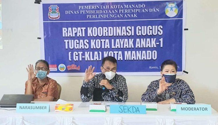 Permalink ke Manado Kota Layak Anak, GSVL Dorong Inovasi DP3A