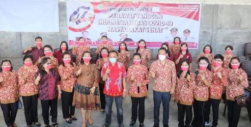 Permalink ke HUT PPNI ke 47, WL Bangga Komitmen Perawat di Kota Tomohon