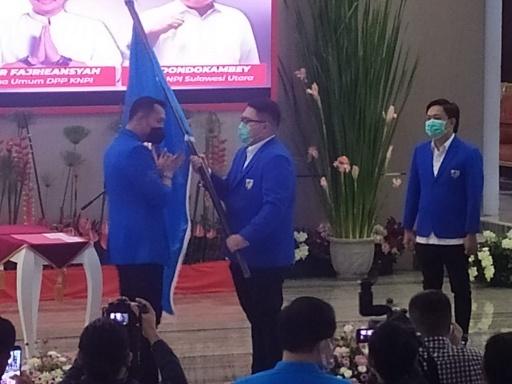 Permalink ke Ketua Umum DPP KNPI Resmi Lantik Pengurus KNPI Sulut