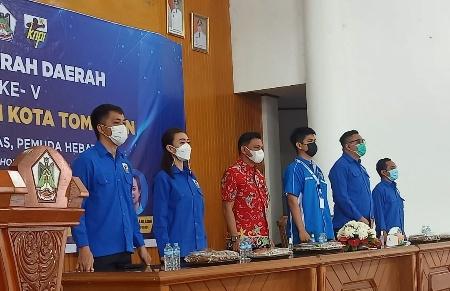 Permalink ke Terpilih Secara Aklamasi, Karheinz Senduk Pimpin KNPI Tomohon