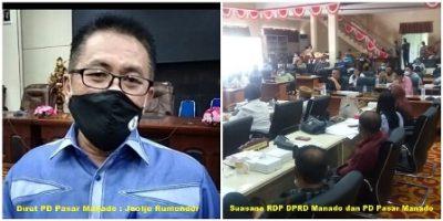Permalink ke Penuhi RDP, Rumondor Paparkan Program Majukan Pasar Manado