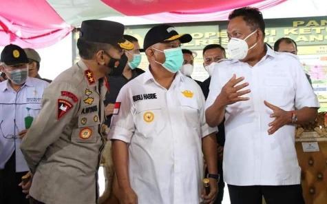 Permalink ke Olly Dondokambey Pantau Posko Larangan Mudik di Perbatasan Sulut-Gorontalo