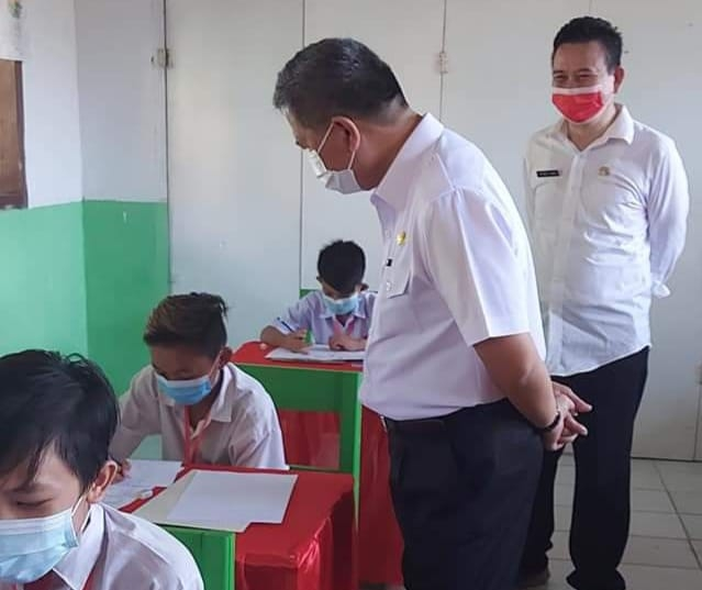 Permalink ke Wabup Minsel Lakukan Monitoring Ujian Sekolah Dasar